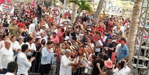 AMLO en Mazatlán Olas Altas Septiembre 2018 Gira Agradecimiento 1