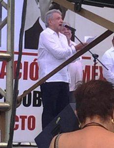 AMLO en Mazatlán Olas Altas Septiembre 2018 Gira Agradecimiento 10