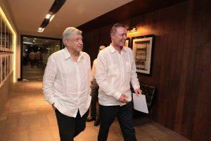 Amlo y Quirino Ordaz Primera Reunión Sinaloa 2018 (3)