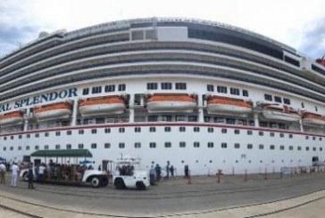 Carnival Splendor llega a Mazatlán