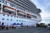 En Mazatlán el crucero turístico Carnival Splendor
