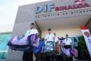 DIF Sinaloa recibe toneladas de ayuda