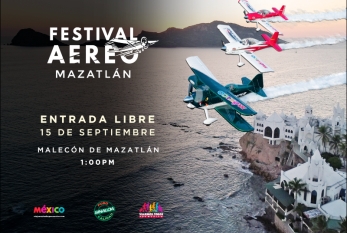 Todo listo para el Festival Aéreo Mazatlán 2018