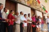 inauguración de murales en Sinaloa de Leyva