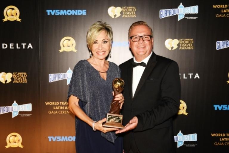 Mazatlán World Travel Award Mònica Coppel 2018 (2)