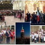 En New York el Grito de Independencia fue acompañado de música sinaloense