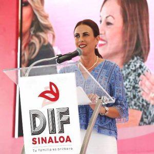 Rosy Fuentes de Ordaz Dif Sinaloa 2018