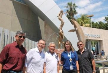 SEDENA de visita en Acuario Mazatlán