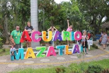 Acuario Mazatlán recibe turismo naviero