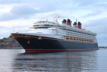Arribó a Mazatlán el Crucero Turístico Disney Wonder