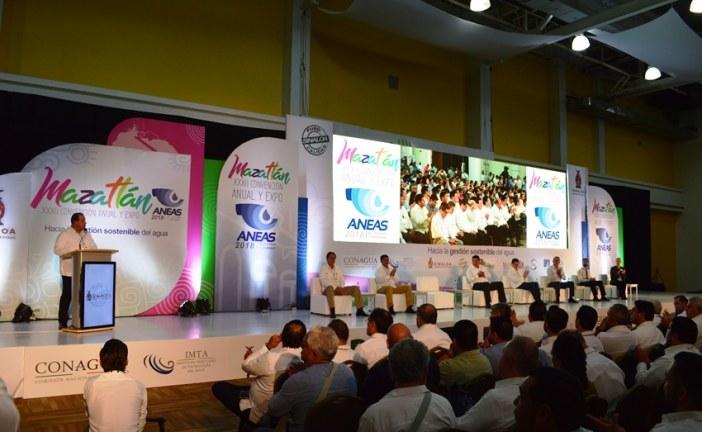 Inauguran la XXXII Convención Anual y Expo ANEAS Mazatlán 2018
