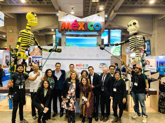 "Mazxatlán Participa en la Feria ""Salon International Tourisme Voyager"" (SITV) 2018 2"