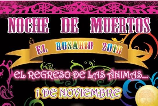 Noche de Muertos en el Pueblo Mágico de El Rosario