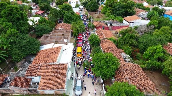 San Javier Fiesta de La Taspana 2018 Vista Aérea 1