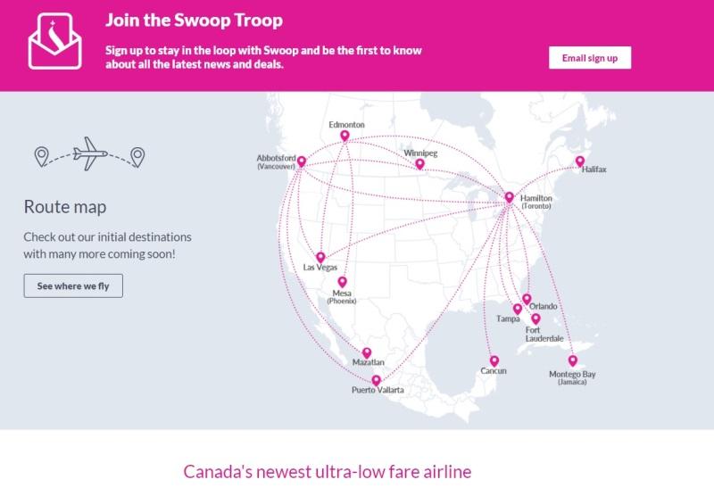 Confirma Sectur Sinaloa que la aerolínea Swoop abre vuelo a Mazatlán