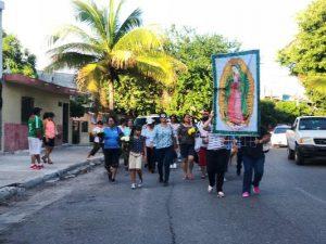 Virgen de la Puntilla Agradecimiento Mazatlecos por Huracán Willa 2018 1