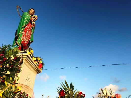 Virgen de la Puntilla Agradecimiento Mazatlecos por Huracán Willa 2018 2
