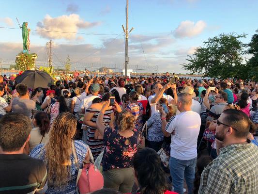 Virgen de la Puntilla Agradecimiento Mazatlecos por Huracán Willa 2018 3