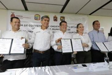 Firman Culiacán y Guasave convenio
