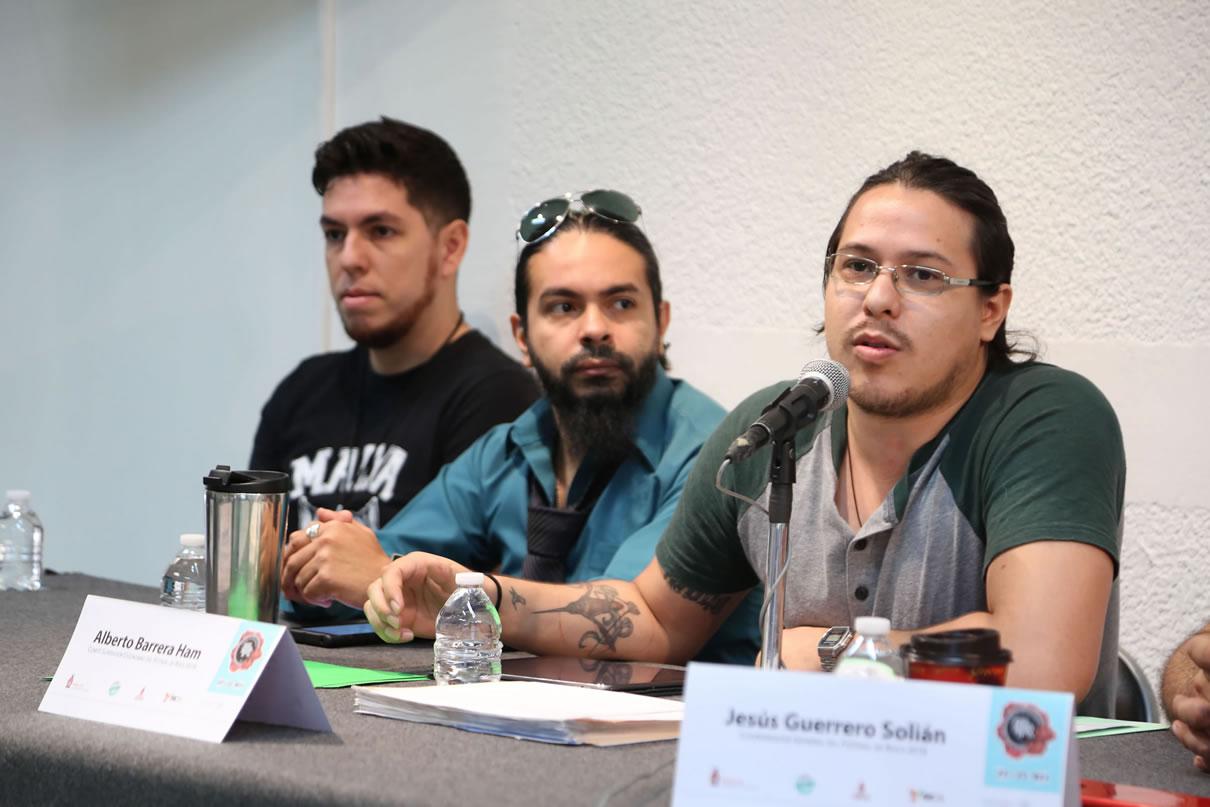 Conferencia Plastilina Mosh y Kinki - Festival de Rock Sinaloa 2018