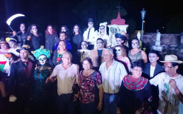 Calalcas Interactivas 2018 Panteòn Español EL Rosario Pueblo Màgico La Buena