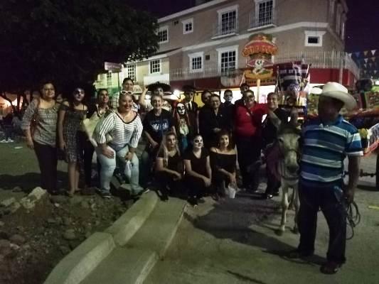 Callejoneada de las Ánimas en El Rosario Pueblo Màgico Sinaloa México 2