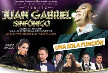 Hasta nuevo aviso  el concierto Juan Gabriel Sinfónico