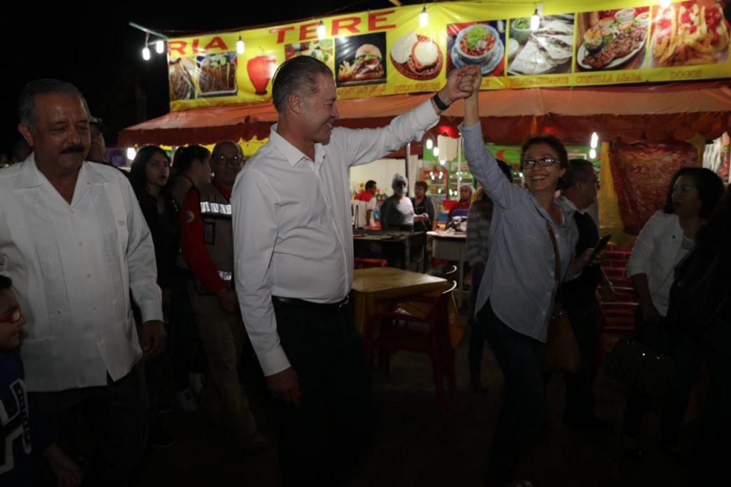 Inaugura Quirino la tradicional Verbena de Culiacán