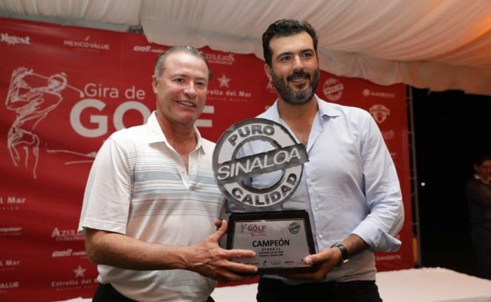 Inaugura Quirino el Torneo de Golf Puro Sinaloa en Mazatlán