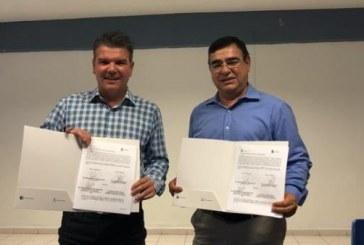 Firman convenio de colaboración con ITMAZ