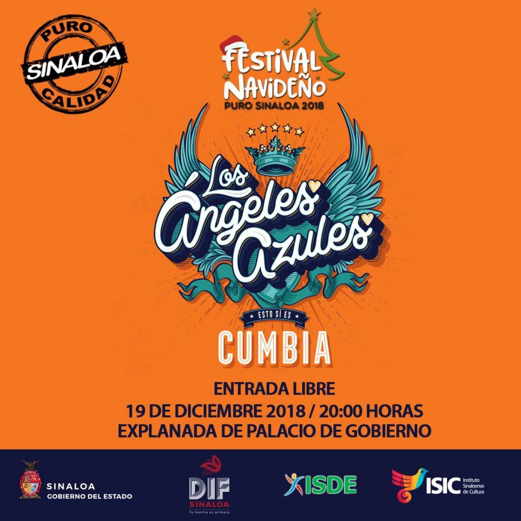 Los Ángeles Azules en Culiacán, Festival Cultural 2018