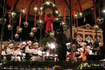 El espíritu navideño llegó a la Plazuela Machado