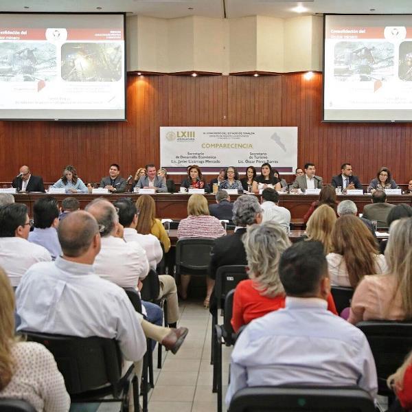 Óscar Pérez Barros Secretario Turismo Sinaloa Comparecencia Congreo Comisión Turismo 2019 1