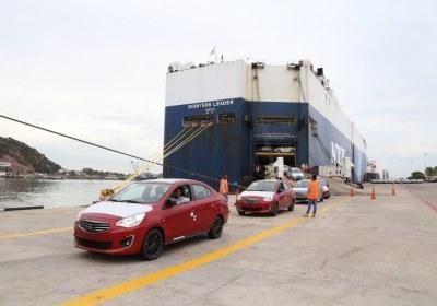 1- Importa Mitsubishi 4870 vehículos por el puerto de Mazatlán