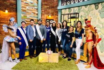 Continua la gira de promoción del Carnaval de Mazatlán en Ciudad Obregón, Sonora y Los Mochis