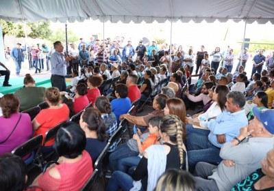 10- Inaugura Quirino obras por 51 mdp en San Ignacio
