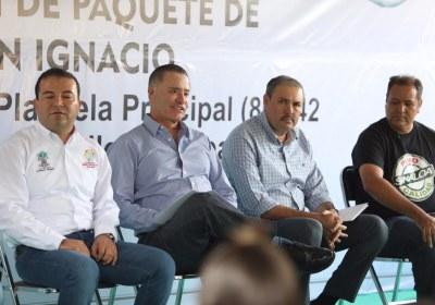 12- Inaugura Quirino obras por 51 mdp en San Ignacio
