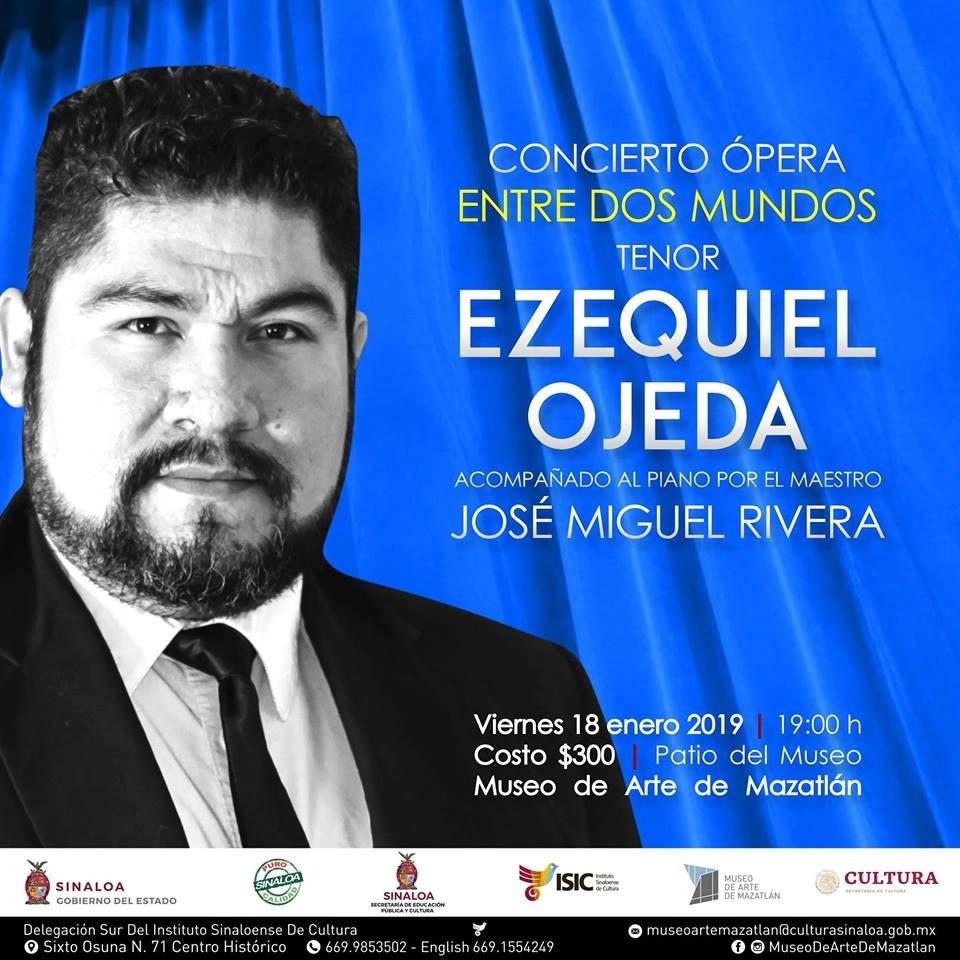 Conciertos Museo de Arte Mazatlán Enero 2019