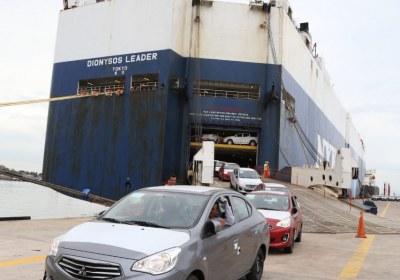 2- Importa Mitsubishi 4870 vehículos por el puerto de Mazatlán