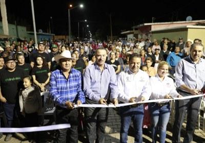 2- Inaugura Quirino obras por 51 mdp en San Ignacio