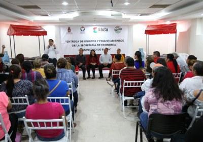 3- Apoyos a emprendedores generan más empleos en Sinaloa