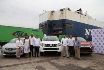 Importa Mitsubishi 4870 vehículos por el puerto de Mazatlán
