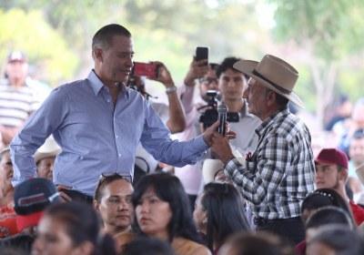 4- Inaugura Quirino obras por 51 mdp en San Ignacio