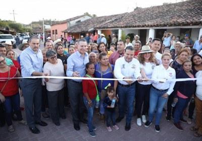 6- Inaugura Quirino obras por 51 mdp en San Ignacio