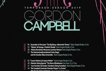 Este domingo inicia la Temporada 2019 de la Camerata Gordon Campbell