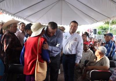 7- Inaugura Quirino obras por 51 mdp en San Ignacio