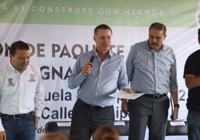 9- Inaugura Quirino obras por 51 mdp en San Ignacio