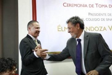 Quirino Ordaz Coppel expresó su total respaldo para el Colegio de Sinaloa