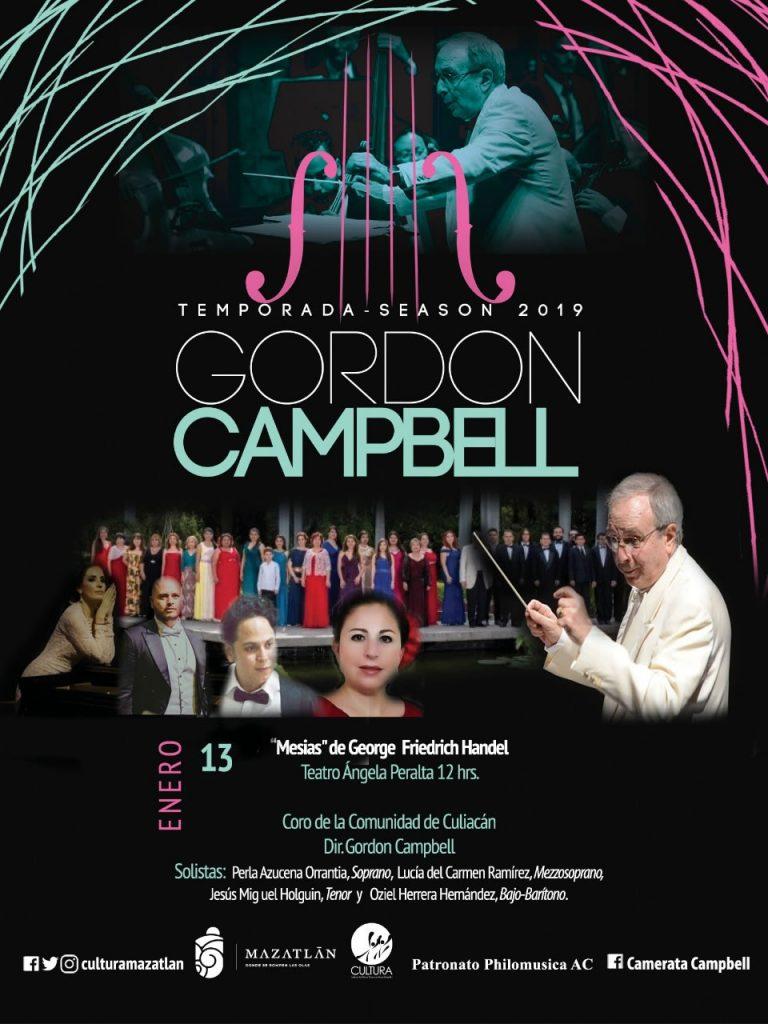 Concierto El Mesías - Gordon Capbell