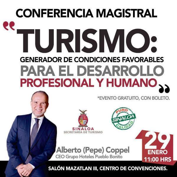 Conferencia Turismo TecMilenio Sectur Sinalao 2019 1